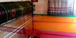 Making of a Banarasi saree