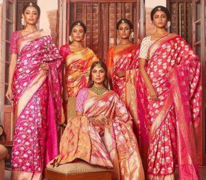 Features of Banarasi silk sarees