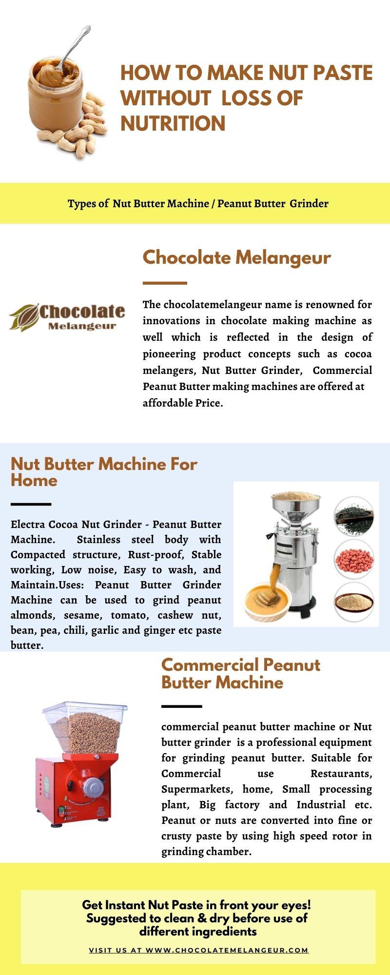 Nut-Butter-Machine