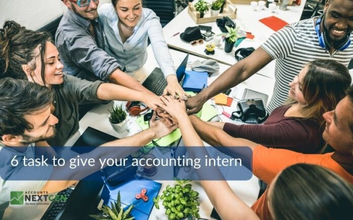 6 task to give your accounting intern