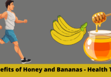Benefits of Honey and Bananas