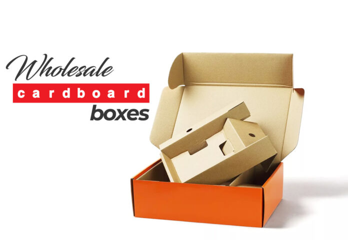 WHOLESALE CARDBOARD BOXES