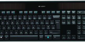 Logitech K750 keyboard not working