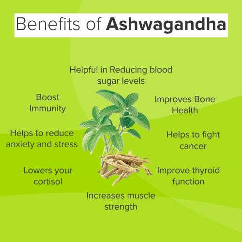 HEALTH BENEFITS OF ASHWAGANDHADHI CHURNA