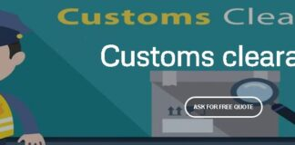 Export customs clearance document