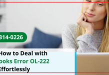 QuickBooks Error OL-222