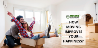 Moving Improves Your Happiness