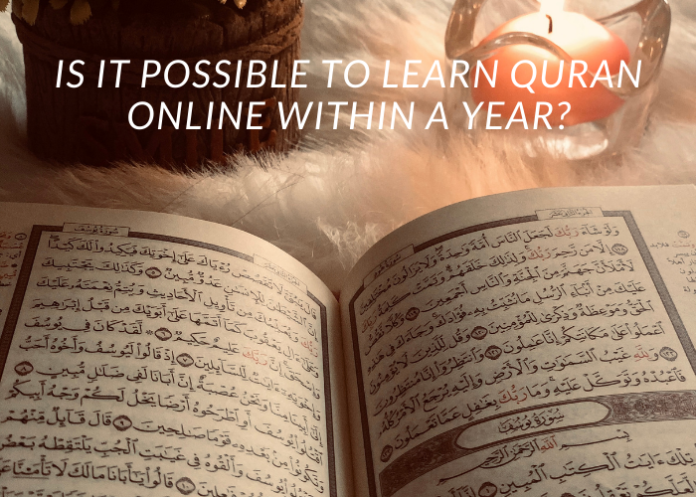 learn Quran online in a year
