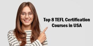 tefl certification in usa