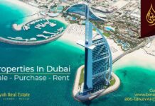Beachfront Apartments for Sale in Dubai-Binayah