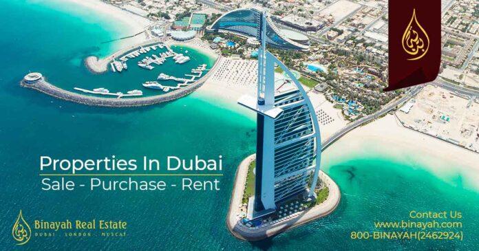 Beachfront Apartments for Sale in Dubai-Binayah