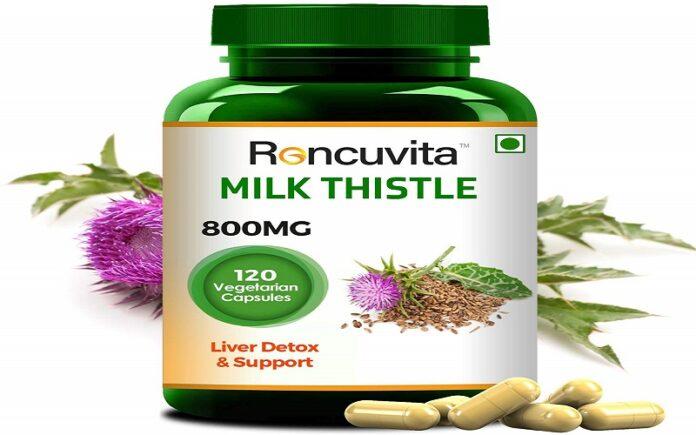 Milk Thistle 800mg, 120 Vegetarian Capsule for Liver