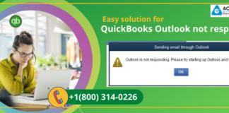 QuickBooks Outlook not responding