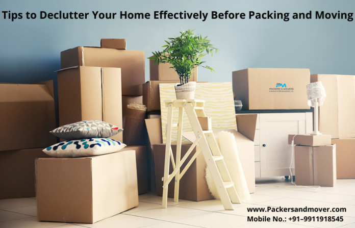 Tips to Declutter Your Home Effectively Before Packing and Moving