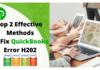QuickBooks Error H202