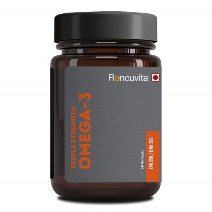 Triple Strength Omega-3 Fish Oil Supplement