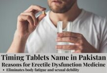 Timing Tablets Name in Pakistan