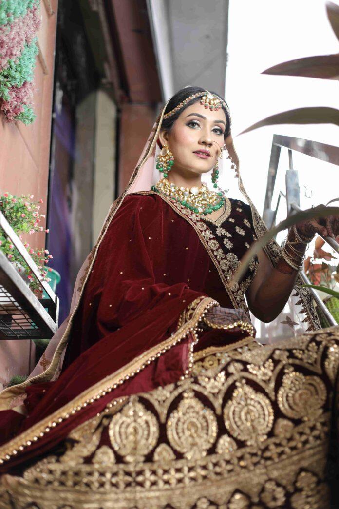 bridal lehenga on rent