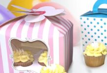 cupcake packaging - banner