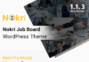 nokri job board wordpress theme