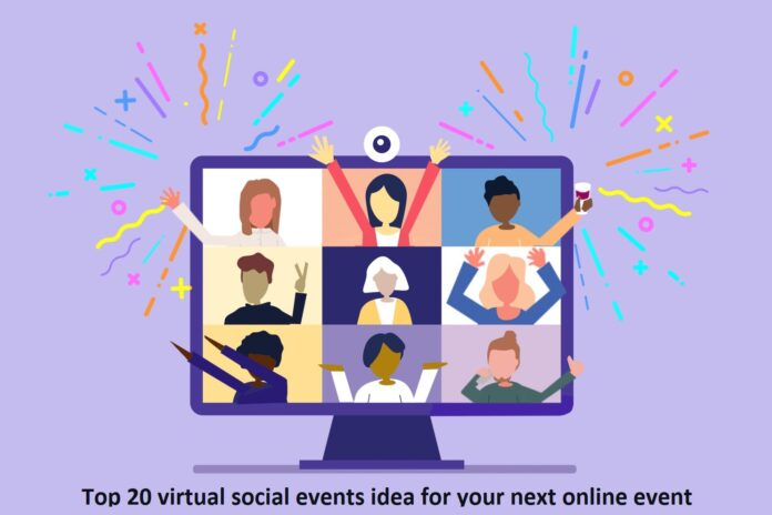 virtual social events