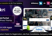 job board wordpress theme free download
