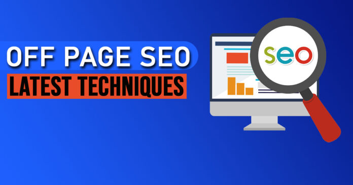 Off- and on-page SEO