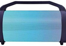 JVC XS-N218BC Portable Bluetooth Speaker Feature