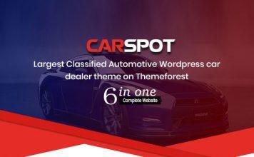 Dealership WordPress Classified Theme