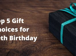 gift choices for 40th birthday
