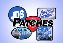 Custom made printed/sublimated patches
