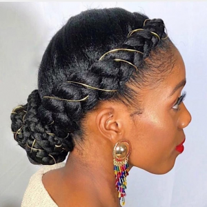 Ribbon your protective hairstyle