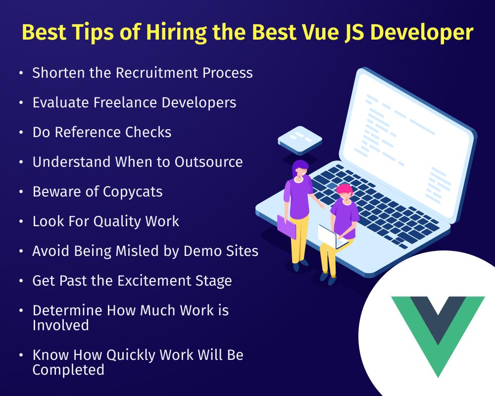 Best Tips of hiring the best vue js developer