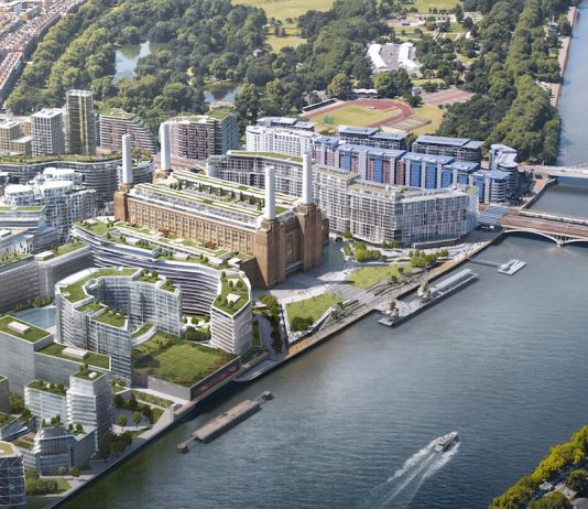 Battersea Power Station Aerial Site Wide Master Plan by copperstones properties