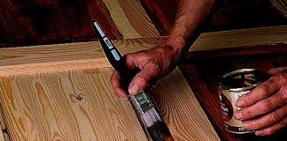 How to Paint a Wooden Door