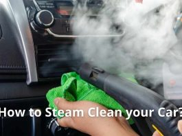 How to Steam Clean your Car