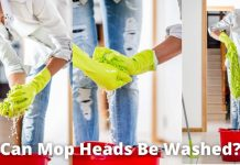 Can Mop Heads Be Washed?