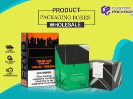 Product Packaging Boxes Wholesale